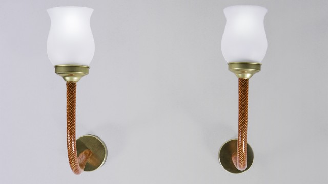 Golden Sidekick Lamp