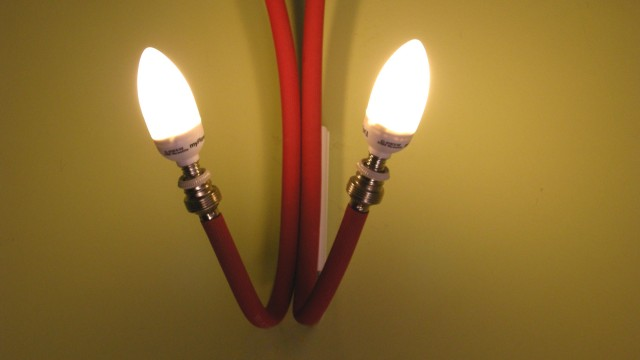 Red rouge Lamp