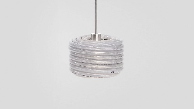 White drum lamp